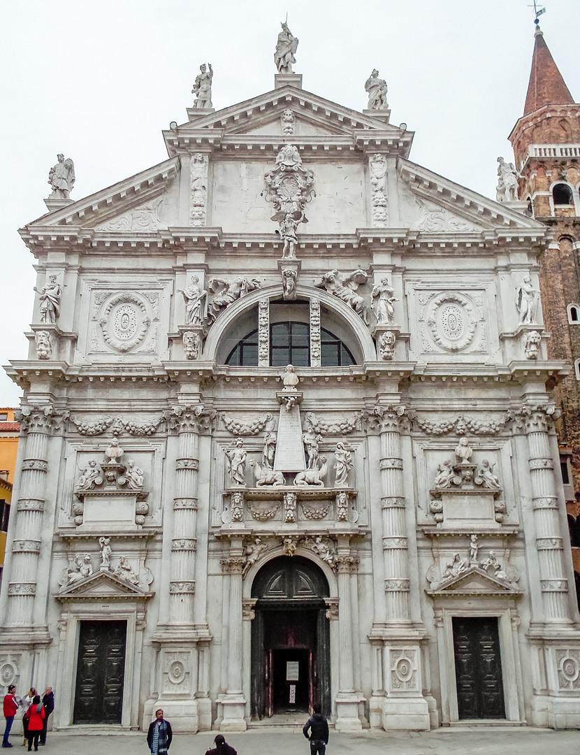 Церковь Сан-Моизе, Венеция, Италия