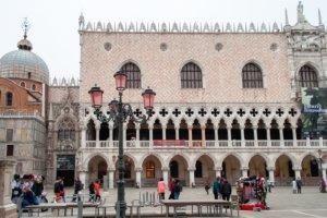 Дворец дожей, Венеция, Италия
