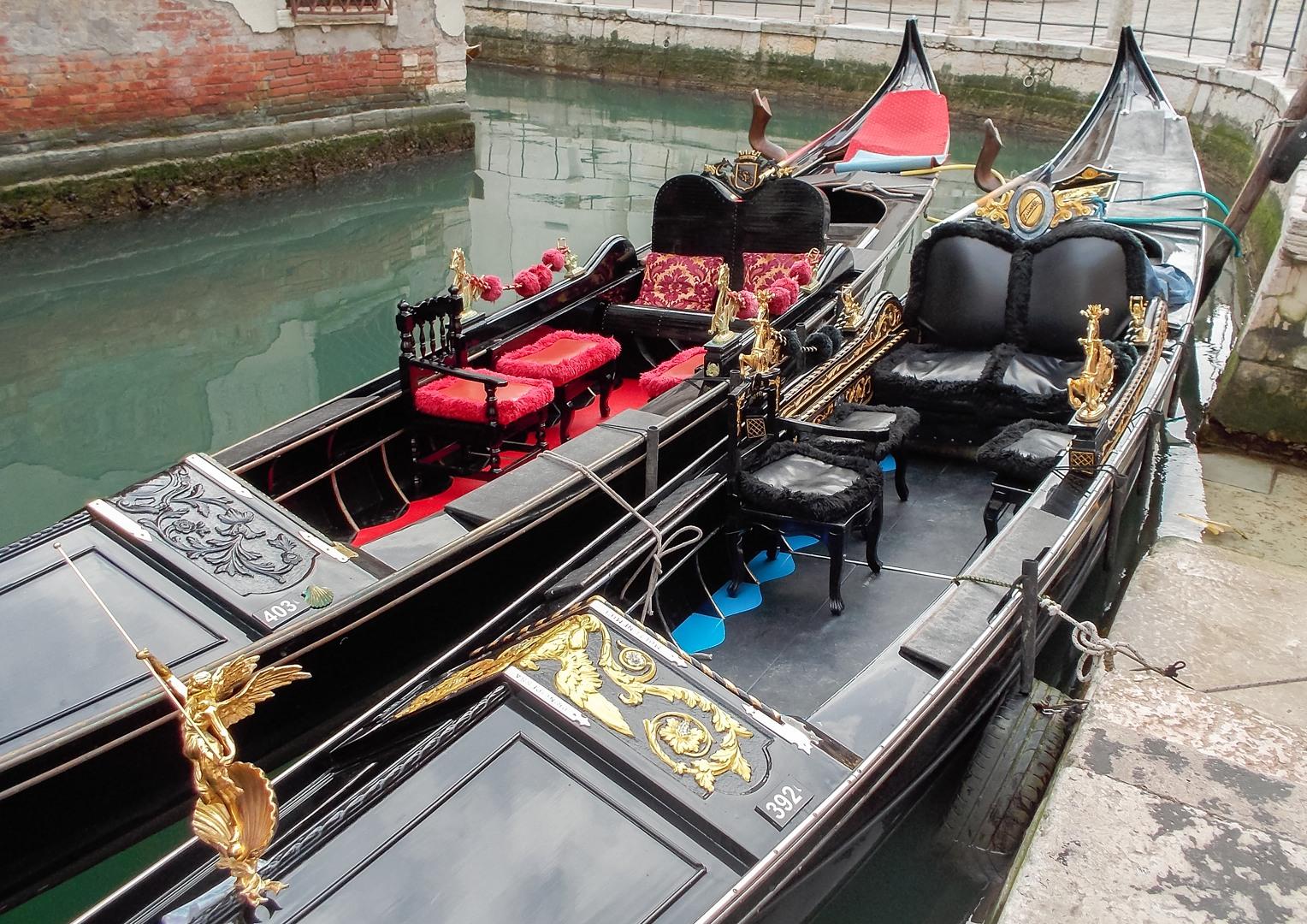 Гондола, Венеция, Италия