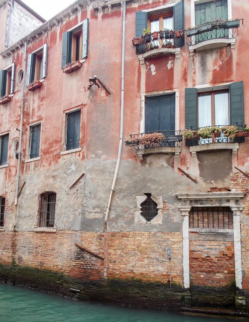 Дом на воде, Венеция, Италия