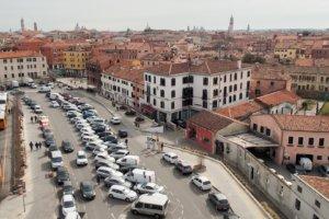 Крыша парковки, Венеция, Италия