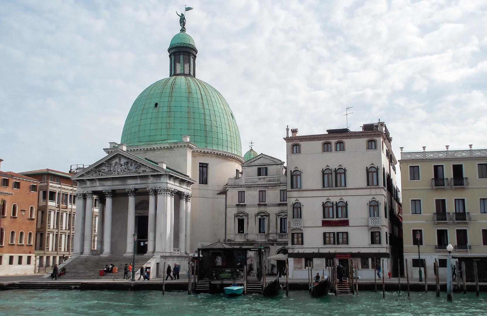 Сан Симеоне Пикколо, Венеция, Италия