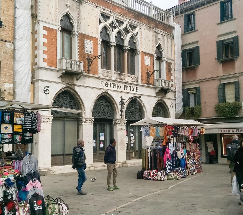 Уличные магазинчики, Венеция, Италия