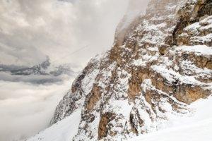 вид со склона Forcella Rossa, горы Tofane