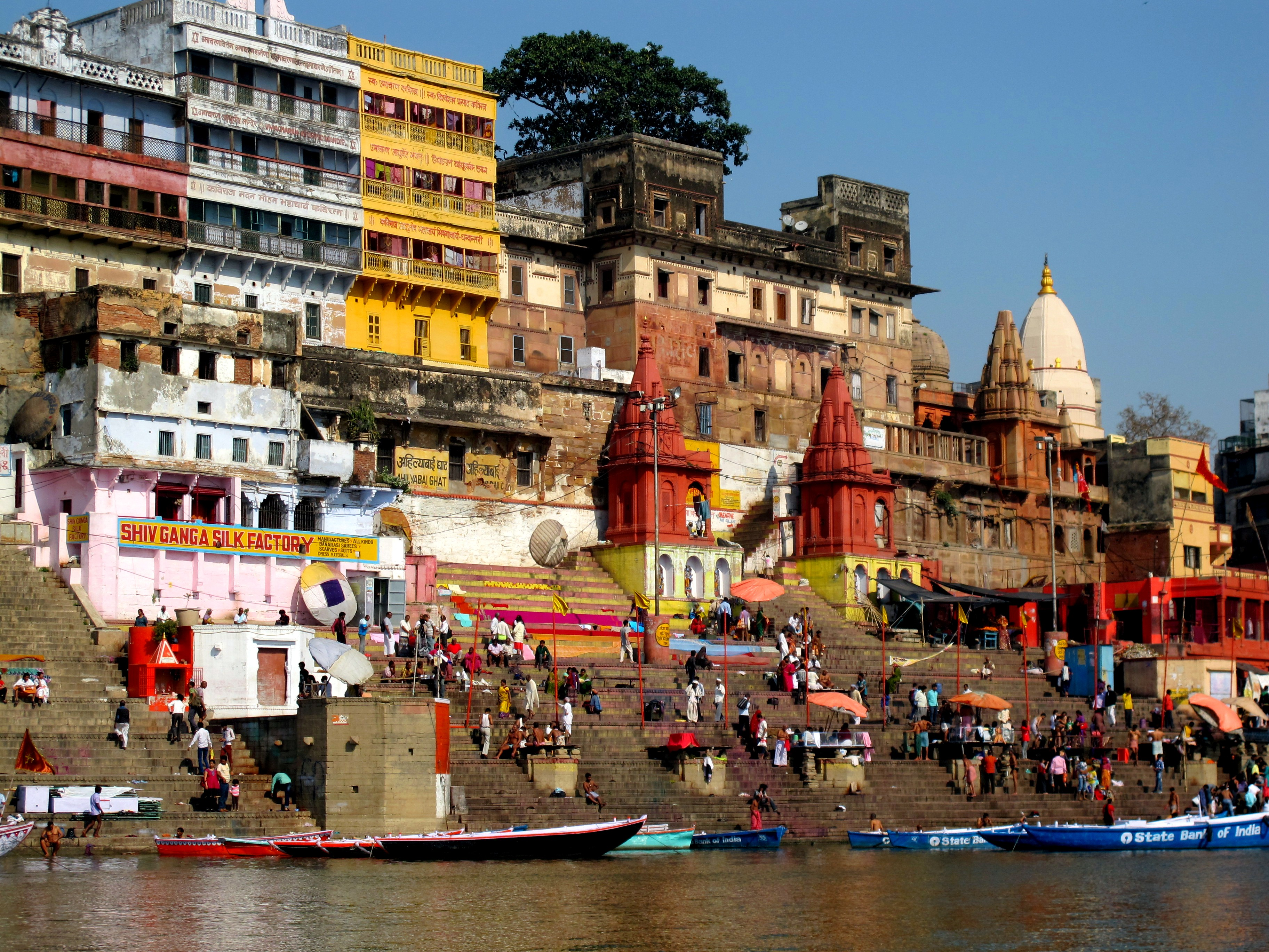 Ahilyabai Ghat, Варанаси, Индия