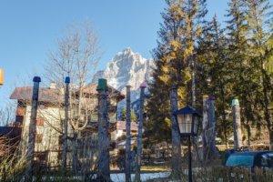 вид из двора отеля Villa Belvedere