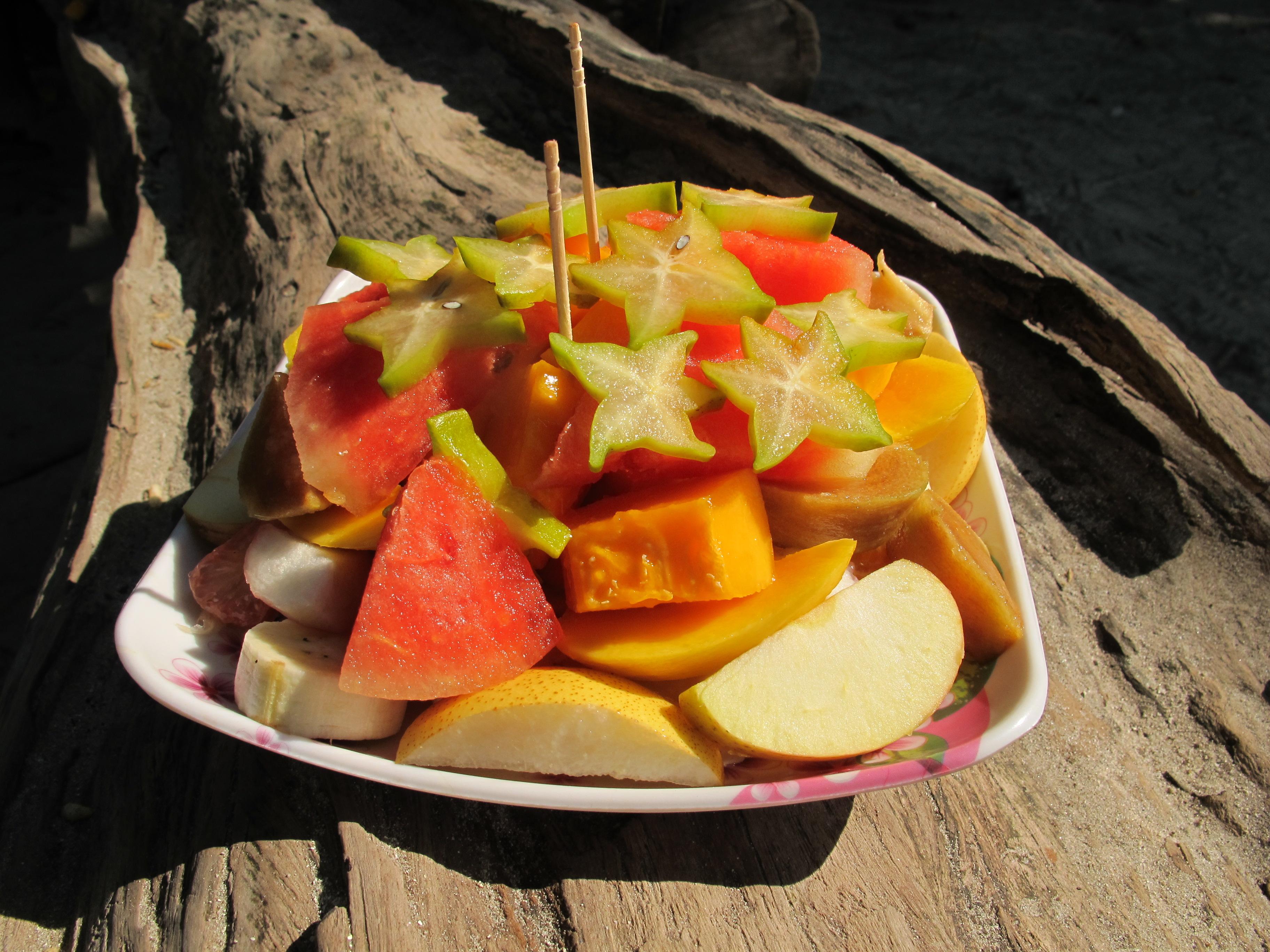 Фруктовый салат (fruit salad)
