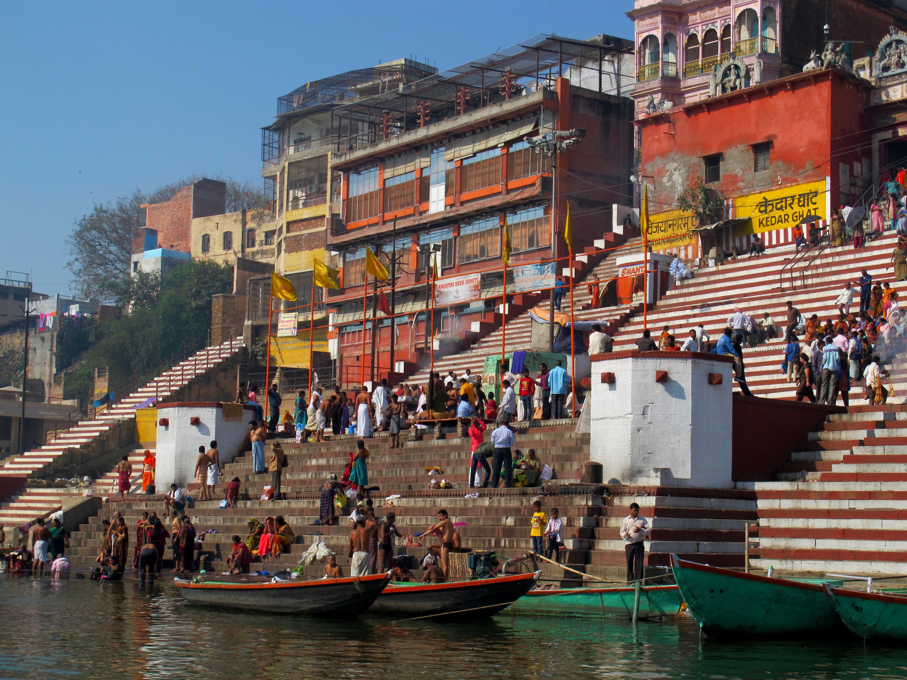 Кедар Гхат, Варанаси, Индия