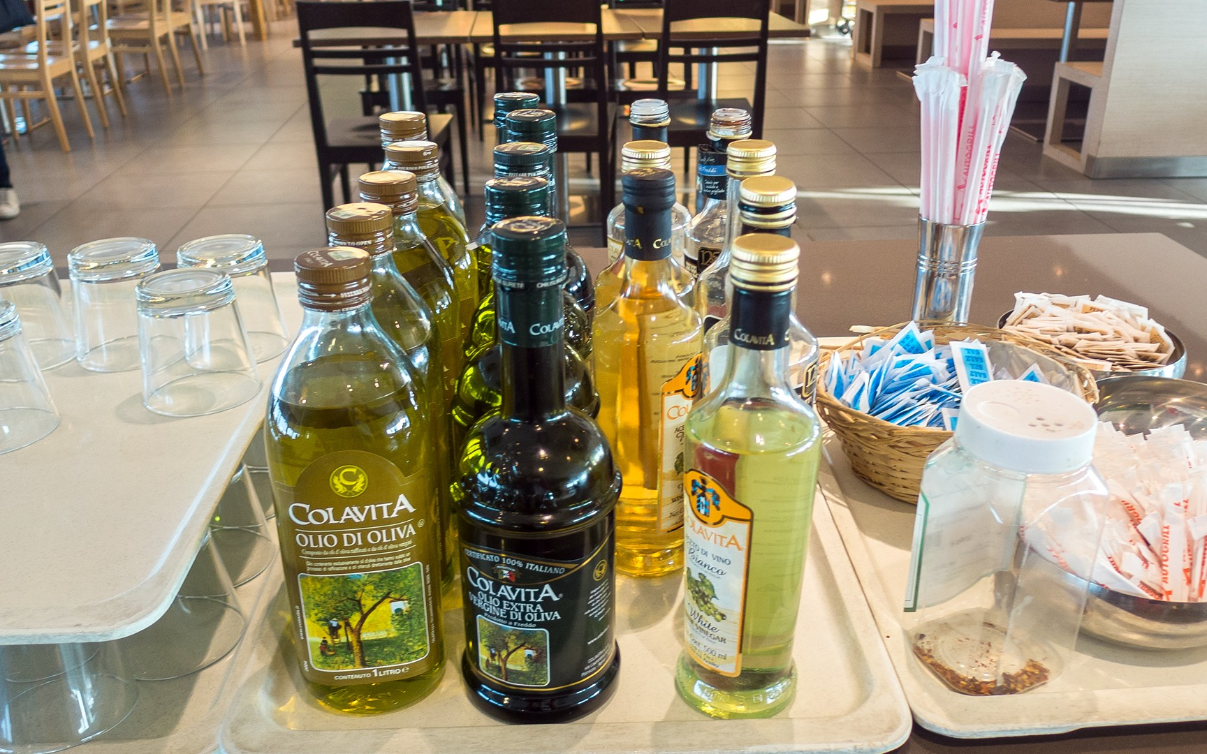 оливковое масло и бальзамический уксус