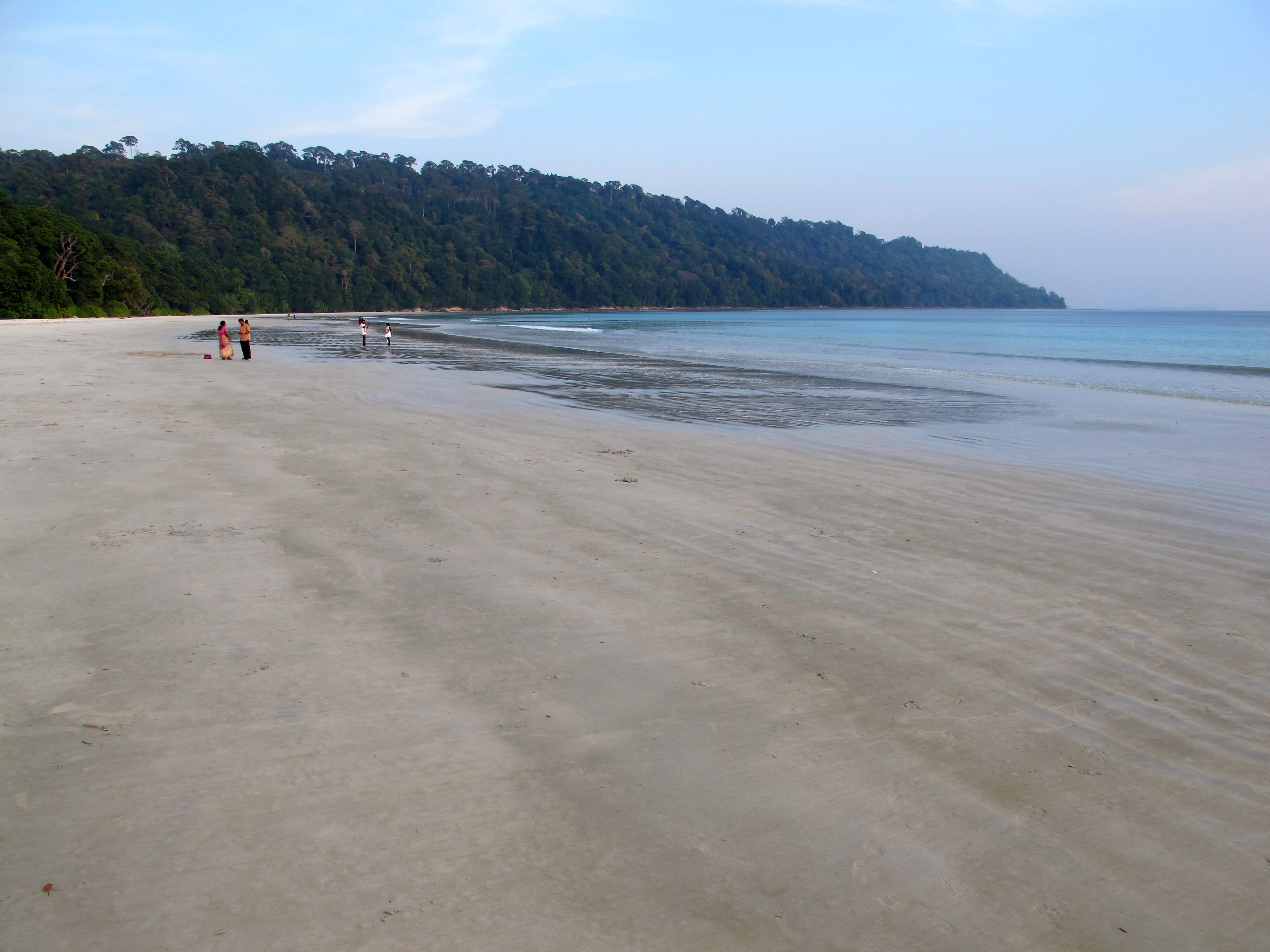 Пляж Радханагар или пляж №7 (Radhanagar Beach or Beach number 7)