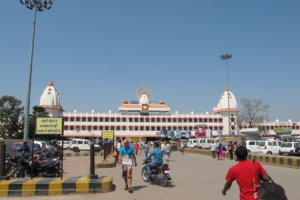 Железнодорожный вокзал Варанаси, Индия
