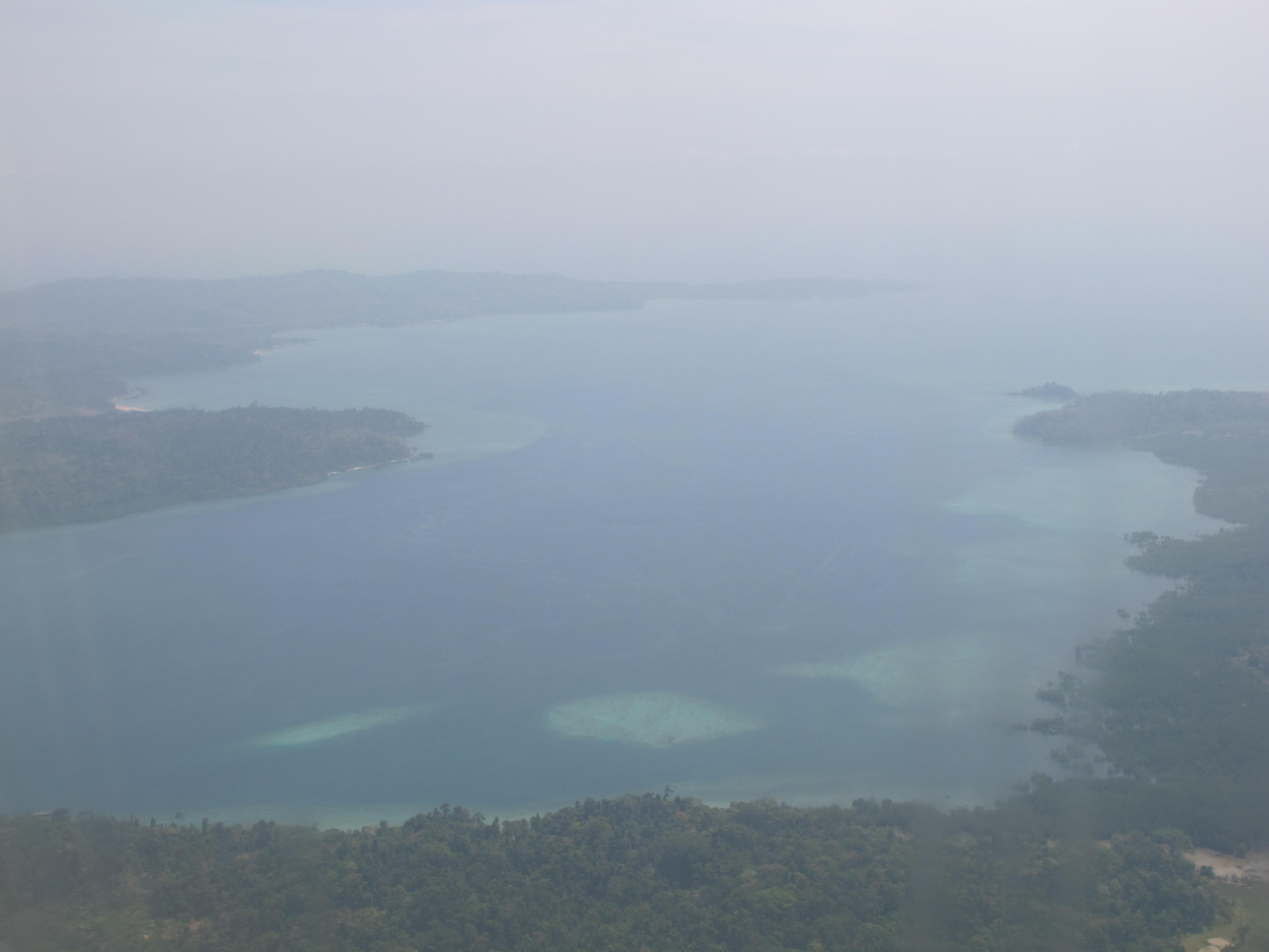 Пролив между островами Рутланд и Южный Андаман, Индия