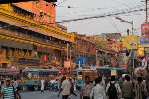 Улицы Калькутты