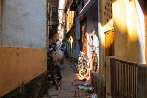 Улочки Варанаси, Индия