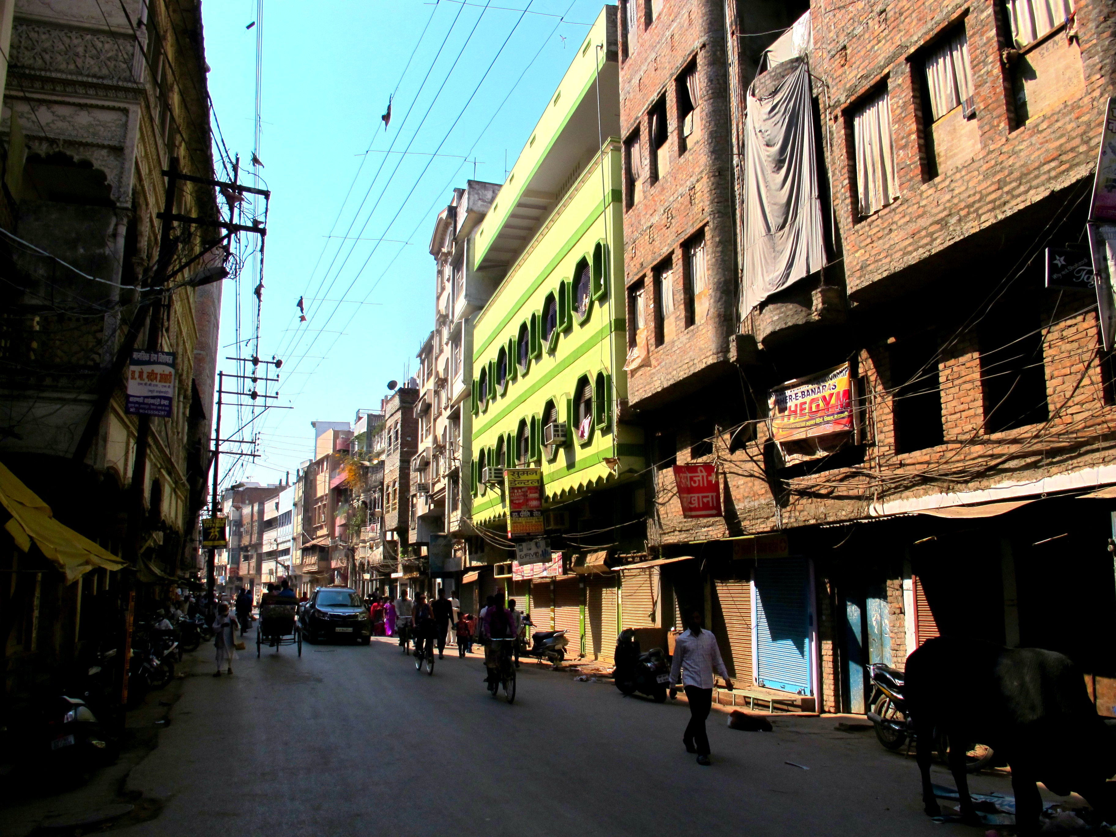Улицы Варанаси, Индия