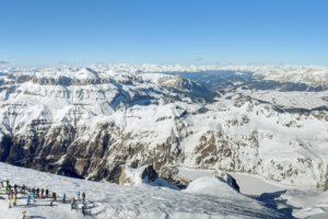 вид с вершины горы Мармолада