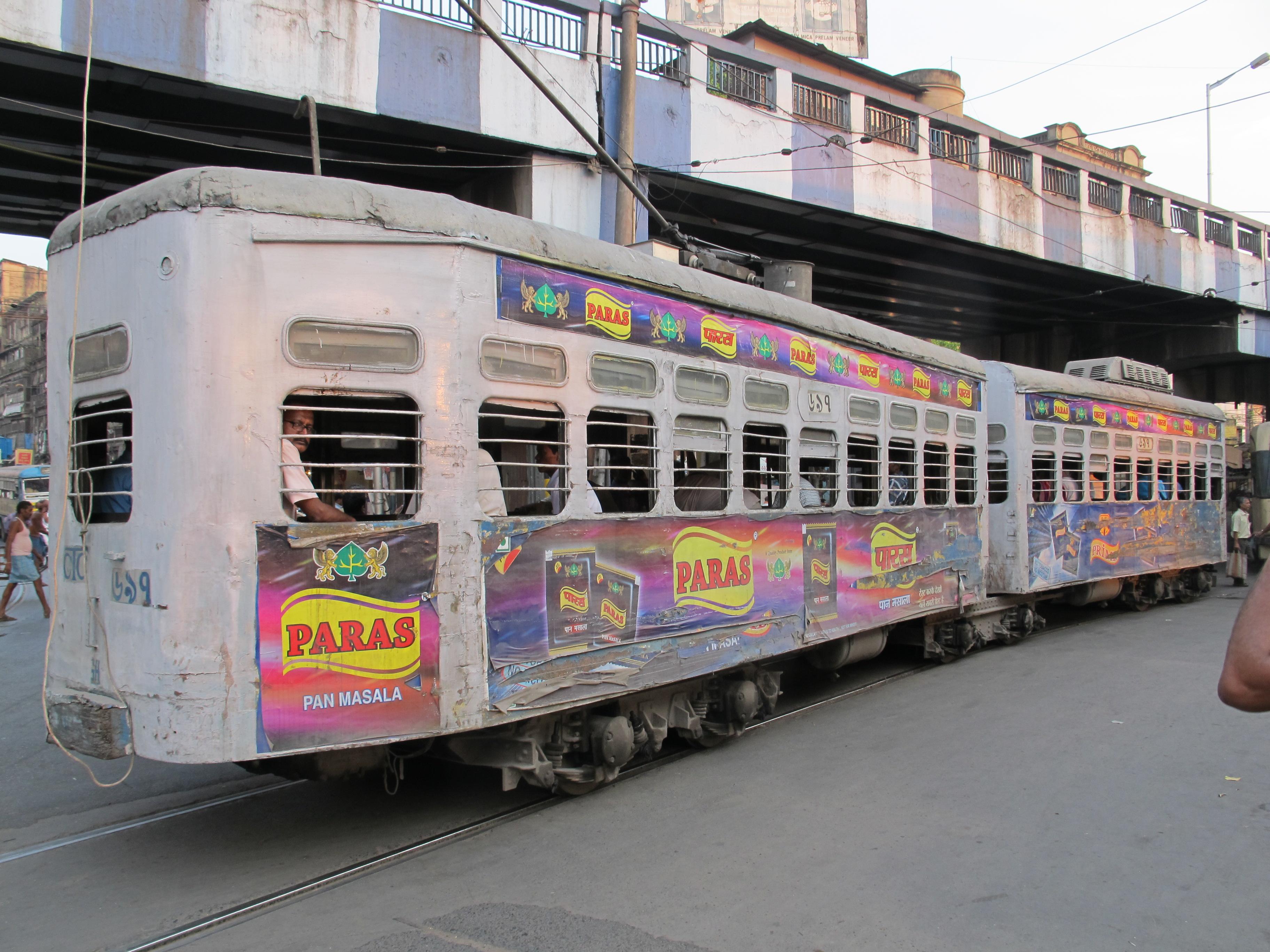 Трамвай, Калькутта