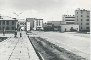 улица Отке в 1985 году