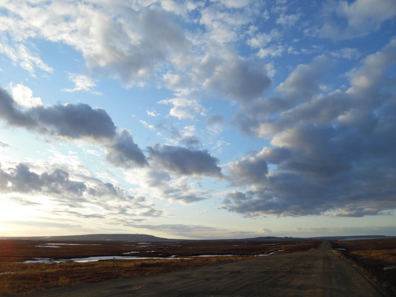 облака над тундрой