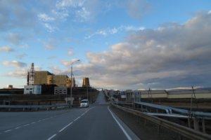 Выезд из города Анадыря