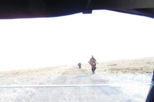 охотники в тундре