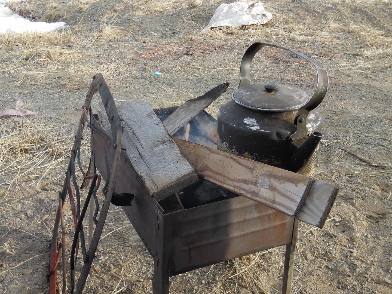чайник в монгале