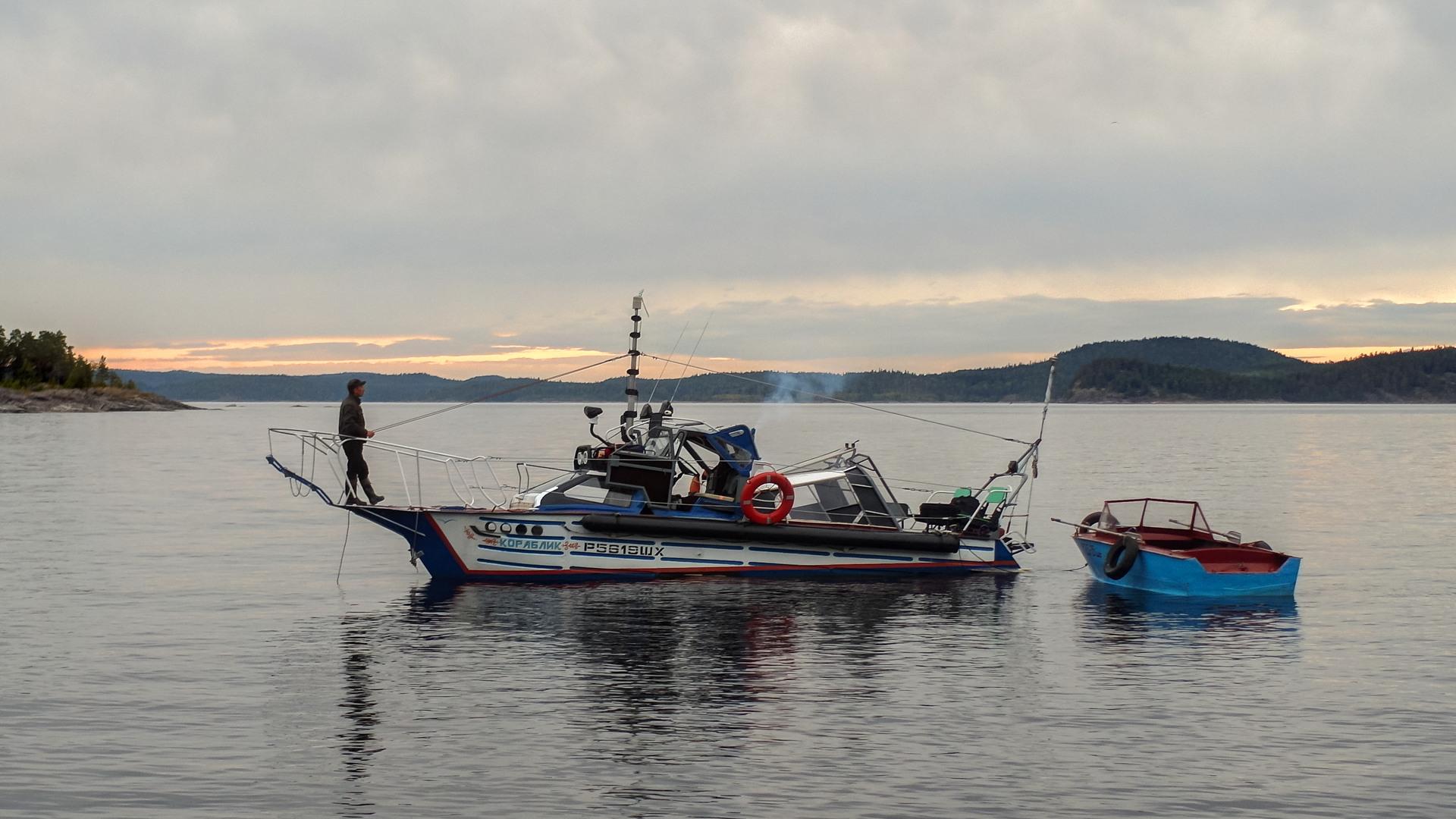 лодка, Ладога
