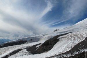 ледники горы Эльбрус