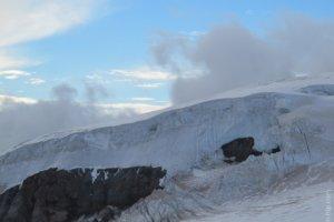 ледники горы Эльбрус, Россия
