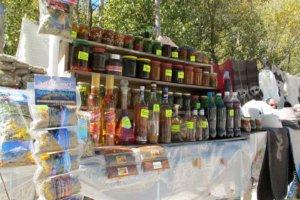 базар в Приэльбрусье