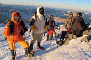 подъём к вершине Эльбруса