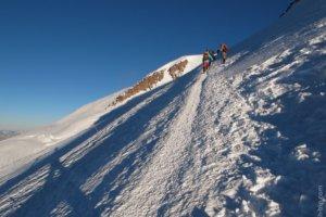 косая полка, гора Эльбрус