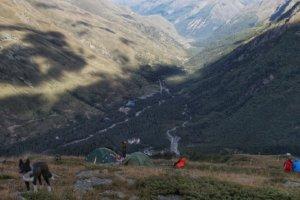 лагерь на горе Чегет