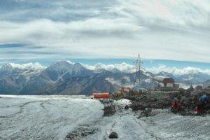 плато горы Эльбрус