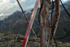 лыжа на горе Чегет