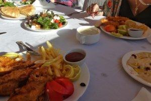 обед в отеле Мина, Акаба