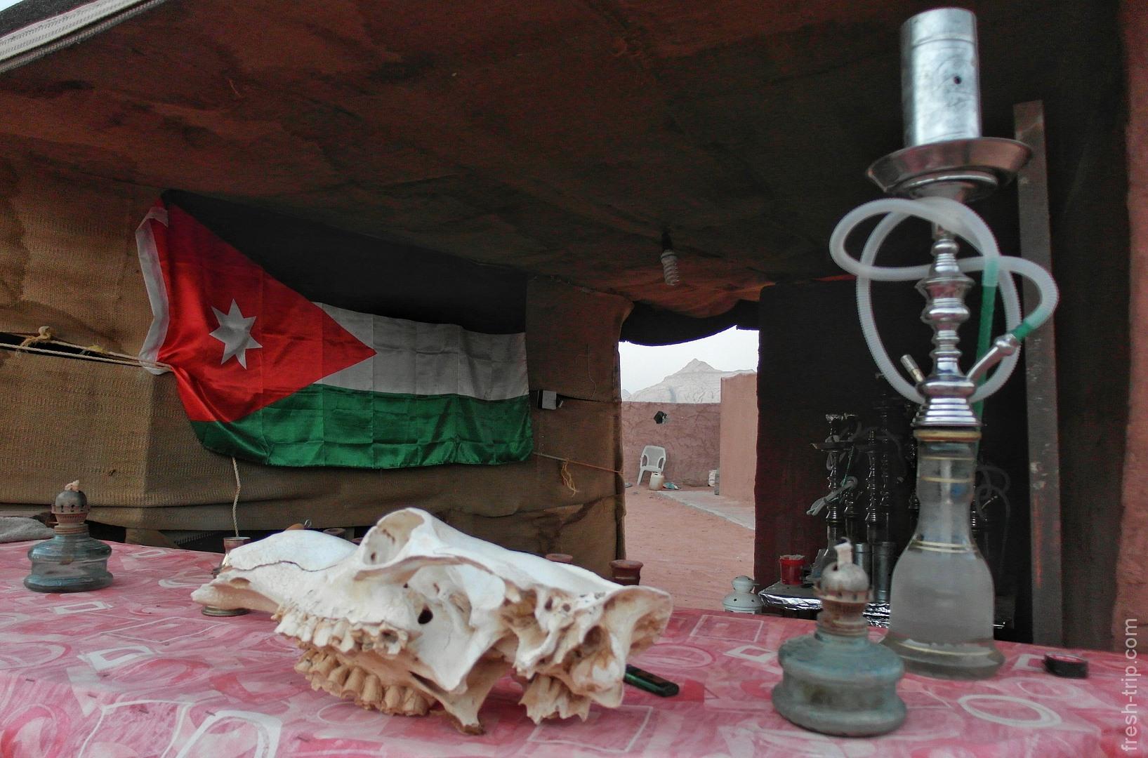 лагерь бедуинов, Вади Рам