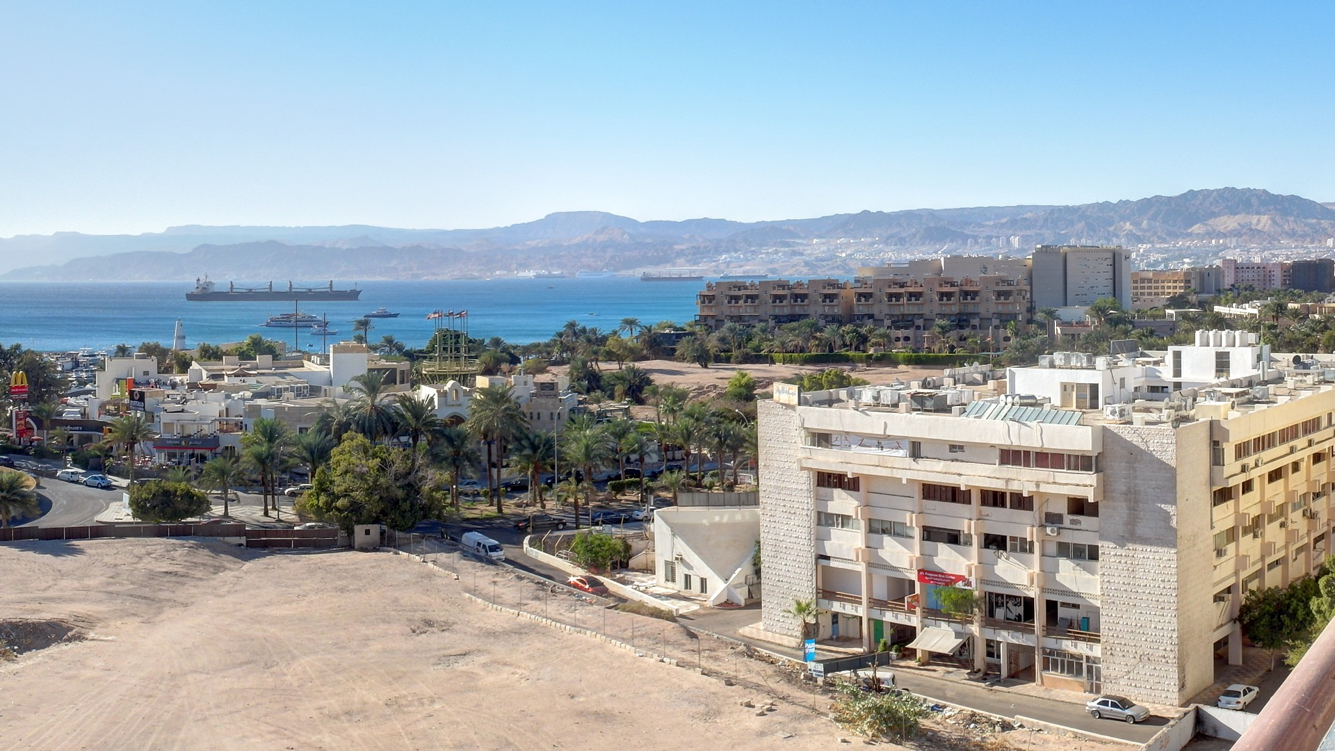залив Акаба, Иордания