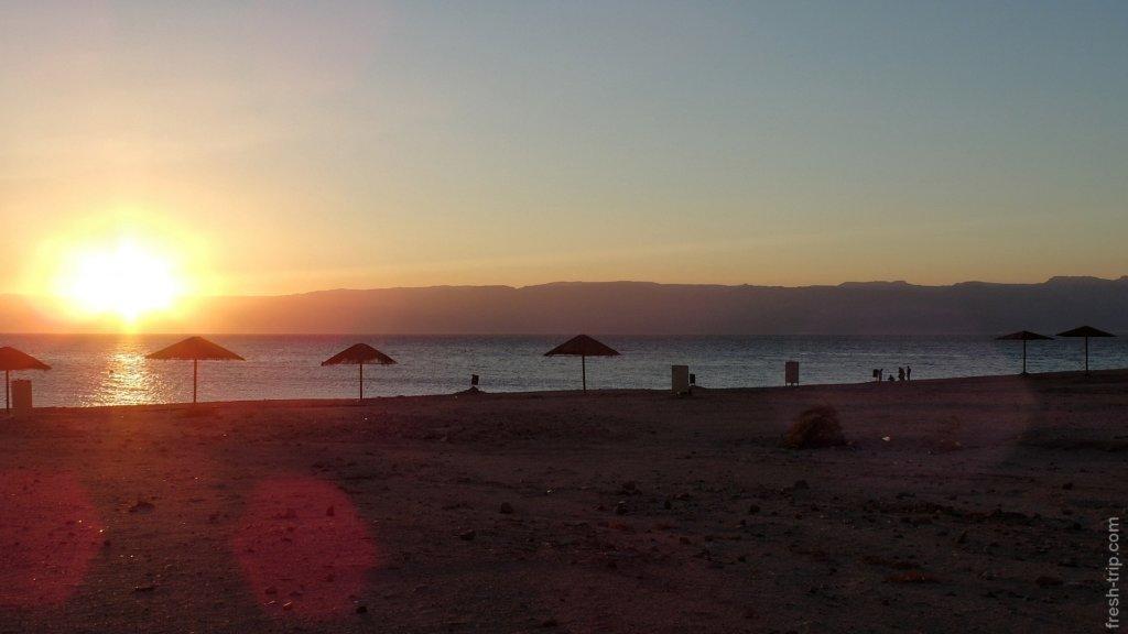 южный пляж Акабы