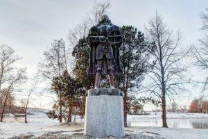 памятник святого Олафа, Савонлина