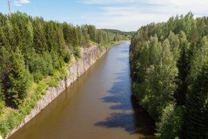 Сайменский канал в Финляндии