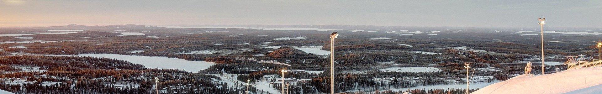 Горнолыжный курорт Ruka, Финляндия