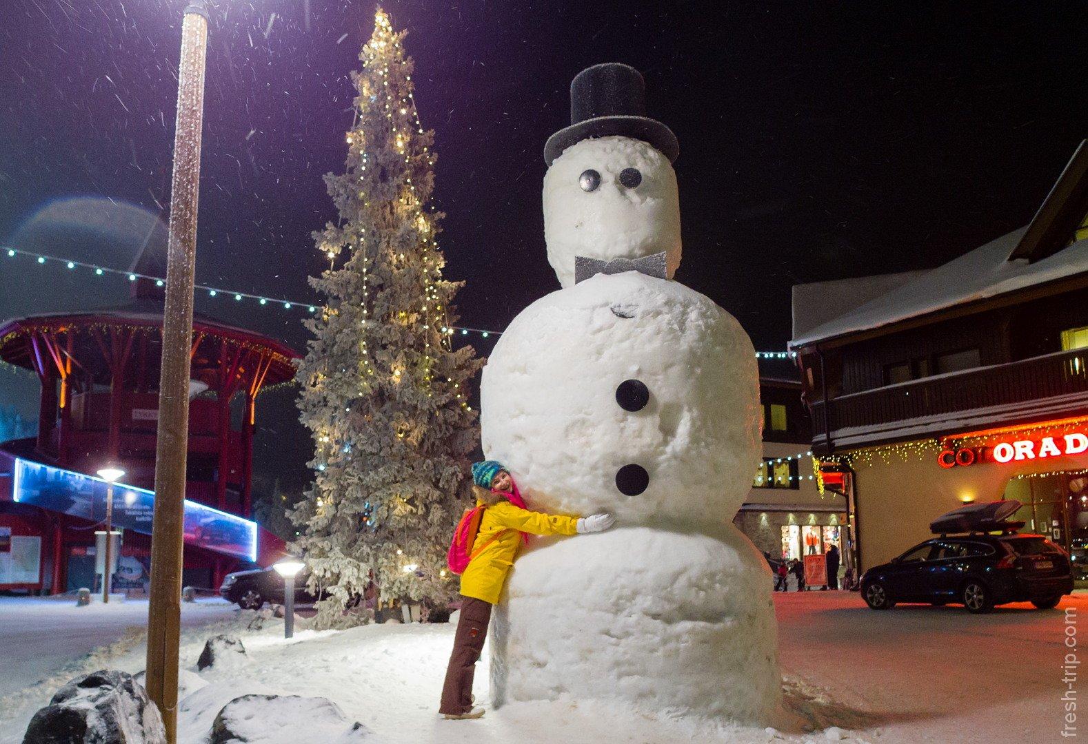 финский снеговик